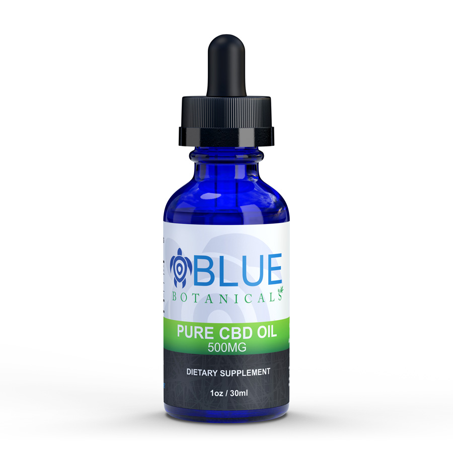 Pure CBD 500mg Natural Flavor