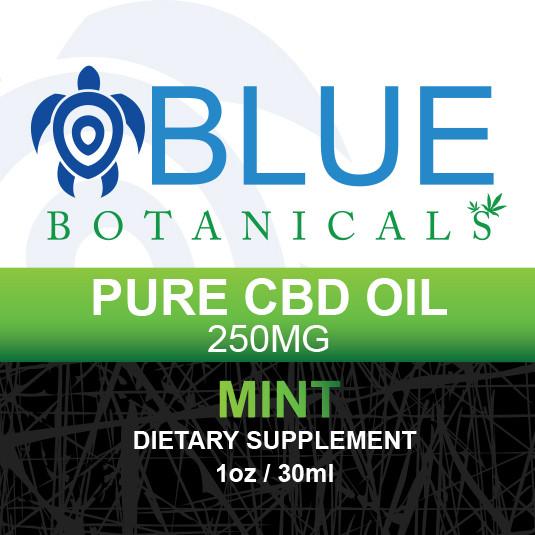 CBD 250mg Mint Flavor
