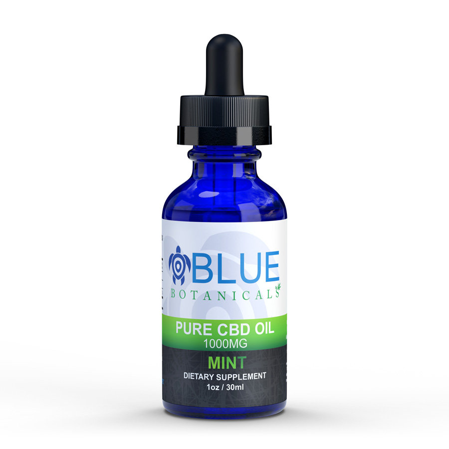 CBD Oil 1000mg Mint Flavor