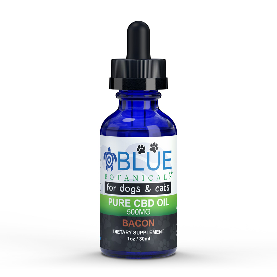 CBD Oil 500mg Bacon Flavor