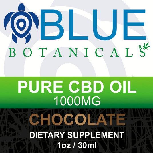 CBD 1000mg Chocolate Flavor