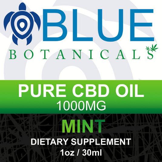 CBD1000mg Mint Flavor