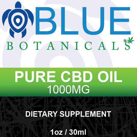 Pure CBD 1000mg Natural Flavor