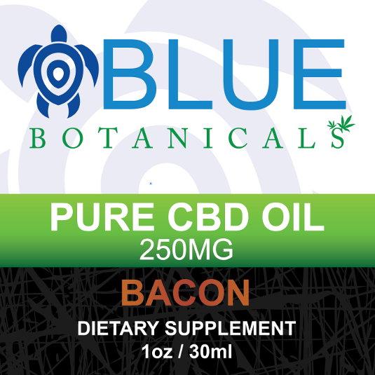 CBD 250mg Bacon Flavor