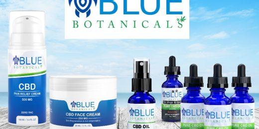 Blue Botanicals CBD Products