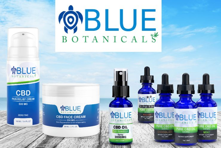 Blue Botanicals CBD Products