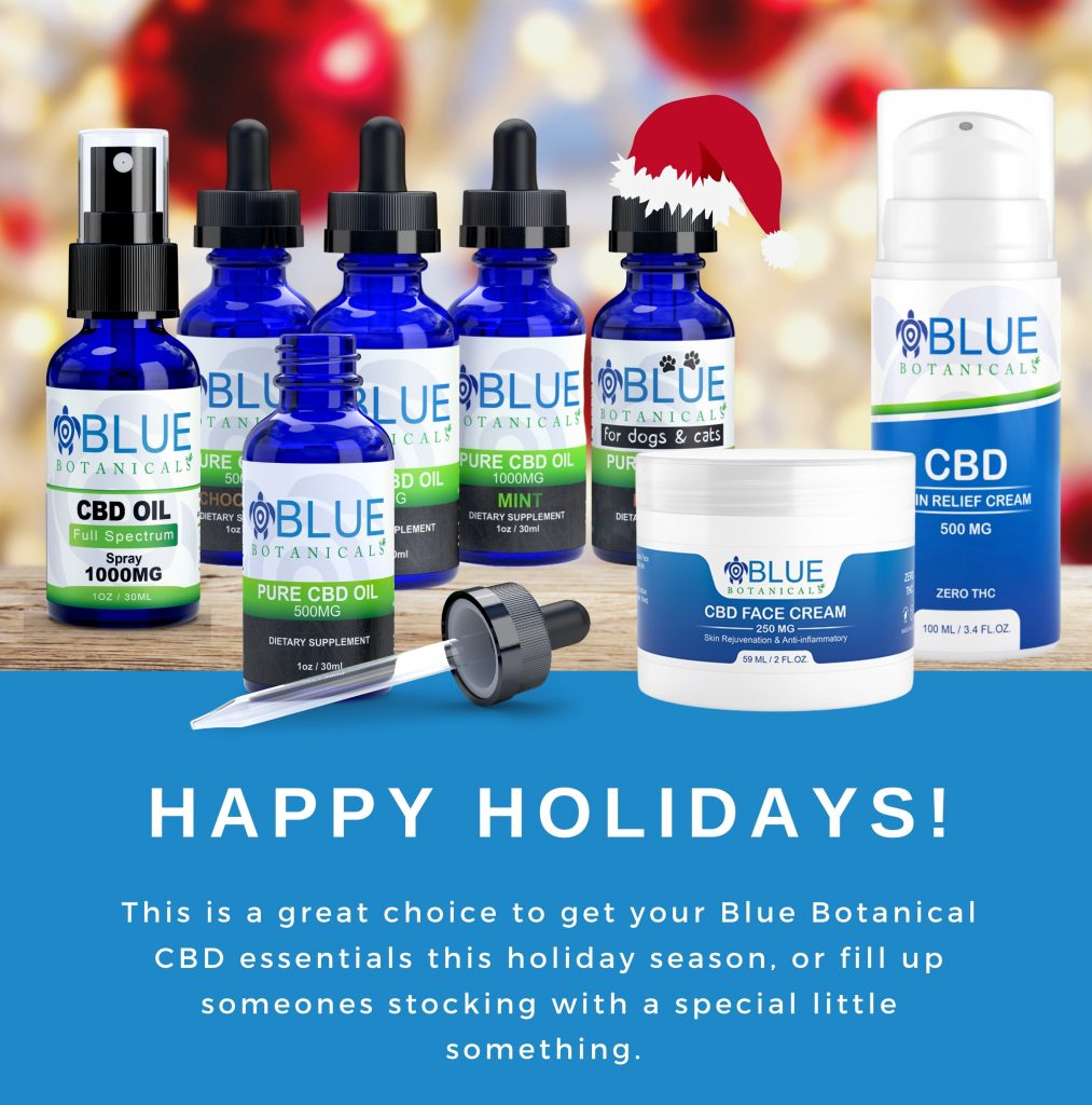 Happy holidays from Blue Botanicals
