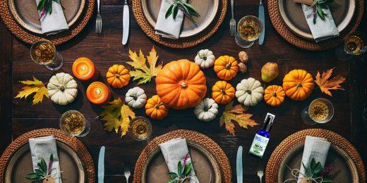 Pumpkins Dinner Table BB