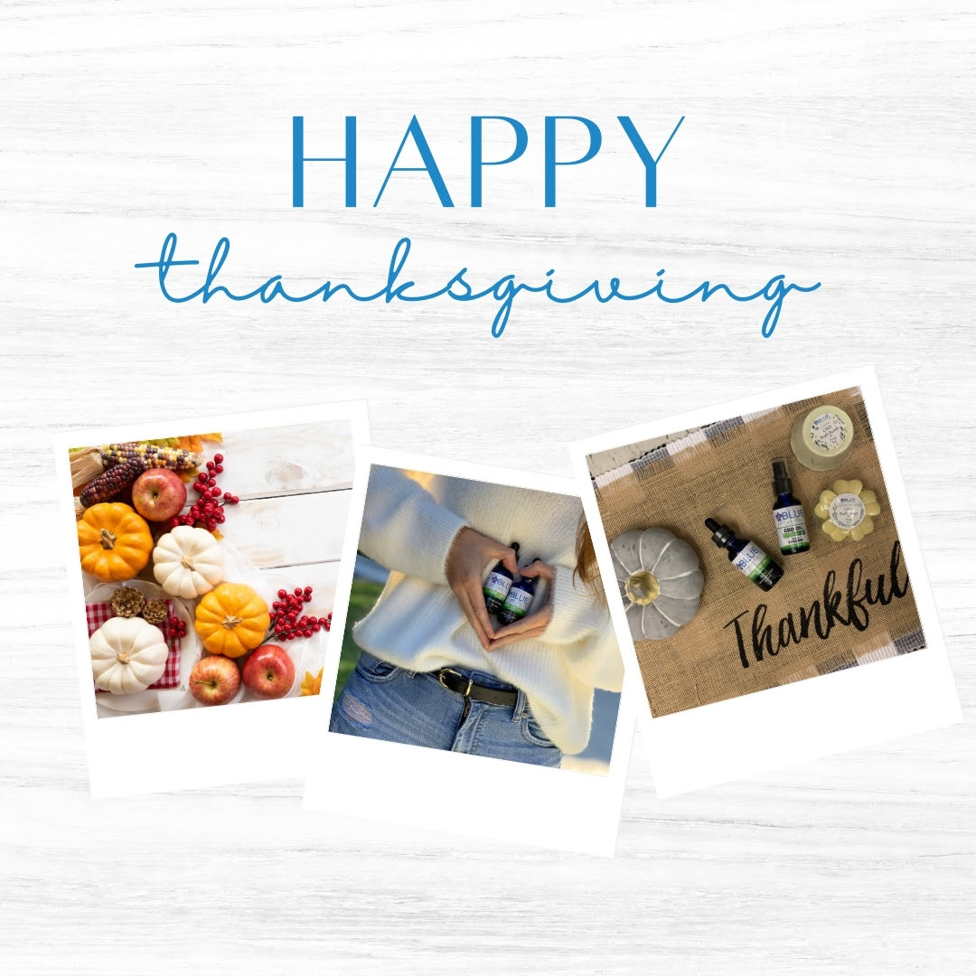 Happy thanksgiving from Blue Botanicals