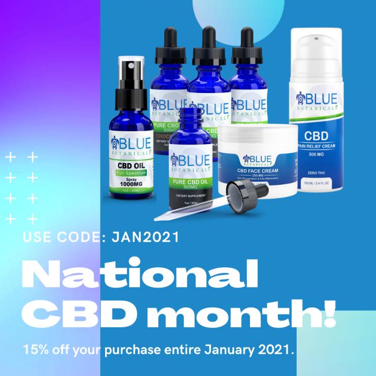 National CBD Day - Blue Botanicals