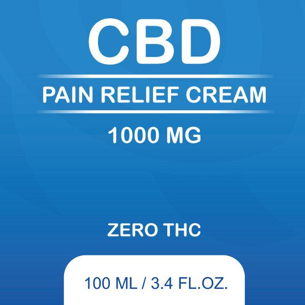 BB Pain Relief Cream 1000mg Logo
