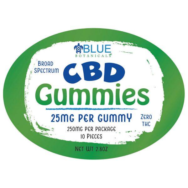 BB CBD Gummies front label
