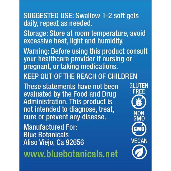 BB CBD Softgels Suggested Use